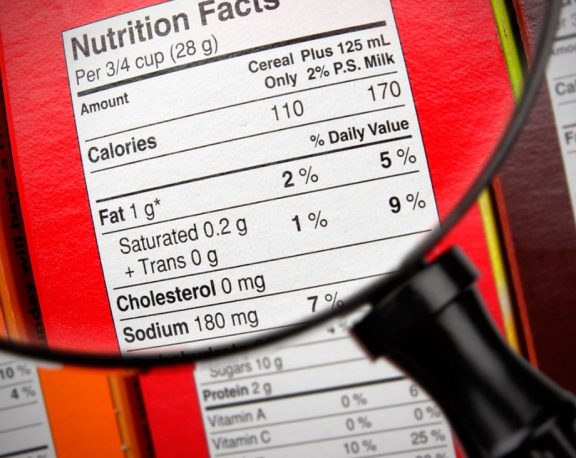 How to Read a Nutrition Label display image