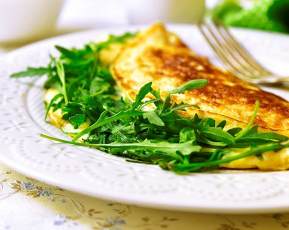 Omelette au fromage display image