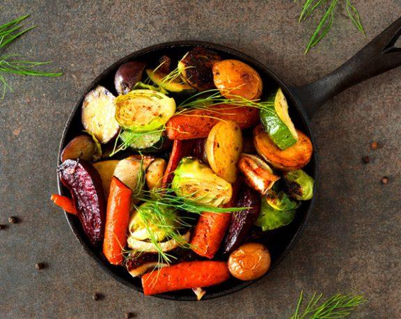 Légumes racines rôtis display image