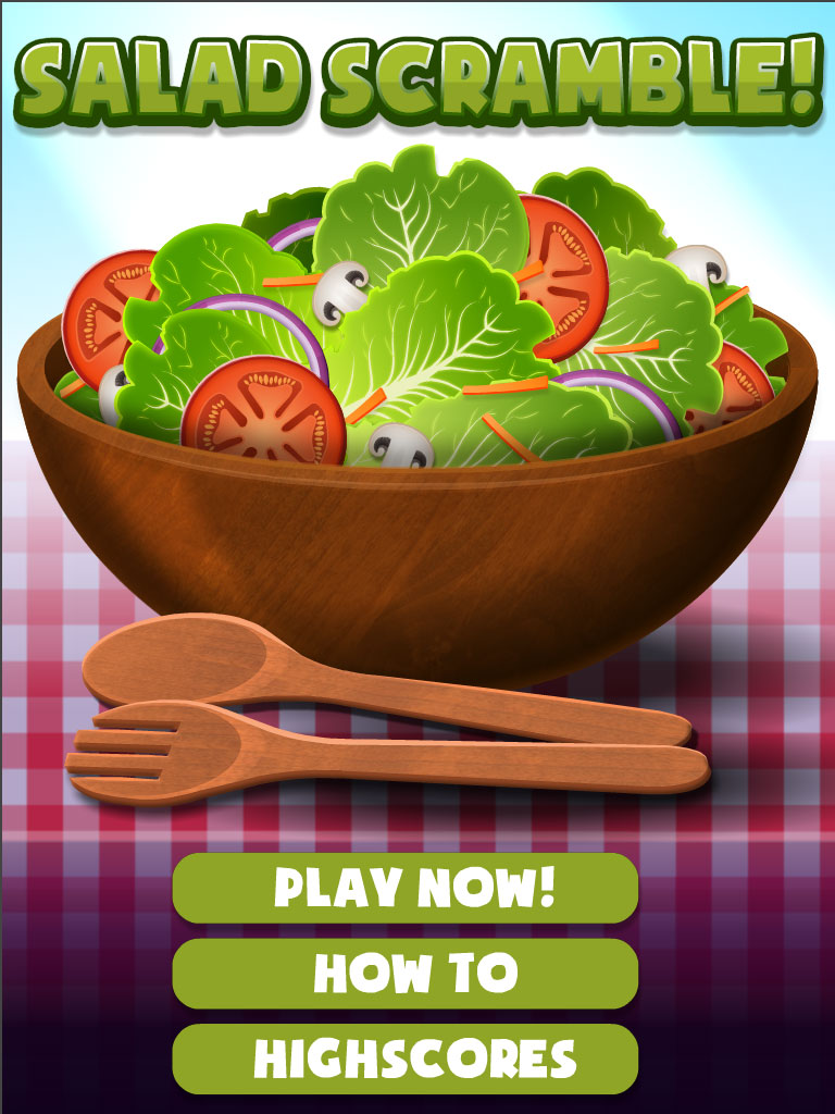 Salad Scramble! display image