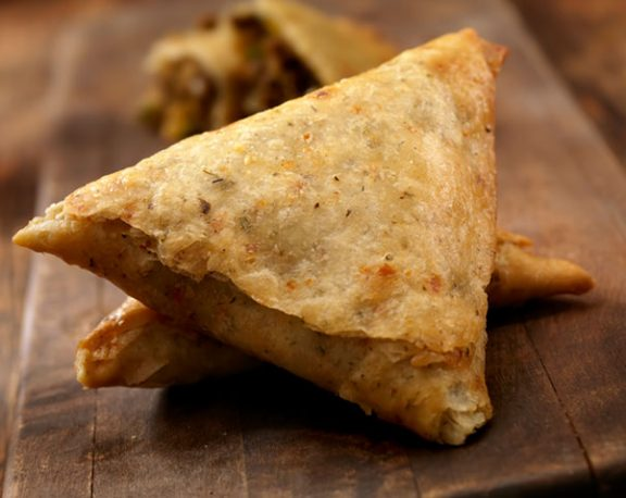 Samosas aux patates douces display image