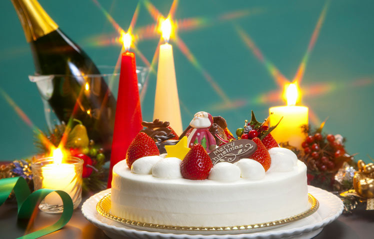 Japanese Christmas Cake.Kid Food Nation Japanese Christmas Cake