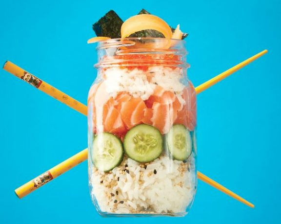 Thomas Kid-Friendly Sushi in a Jar