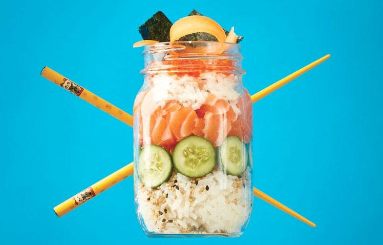 Thomas Kid-Friendly Sushi in a Jar