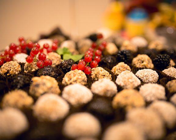 Boules d'énergie au chocolat et graine de chia display image