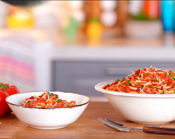 How To Make Pasta Pomodoro display image