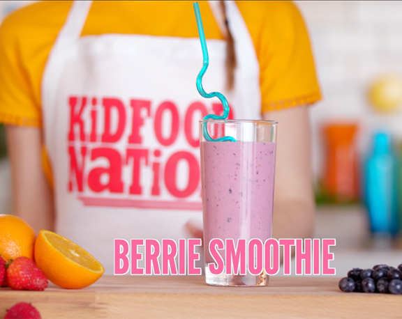 How to Make a Berrie Smoothie display image