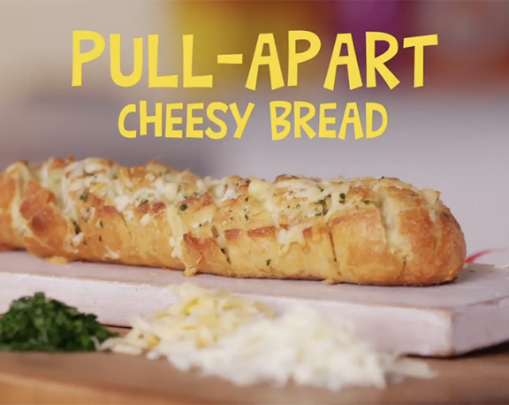 How to Make: Pull Apart Cheesy Bread display image