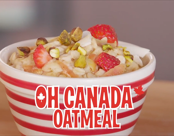How To Make: Oh Canada Oatmeal display image