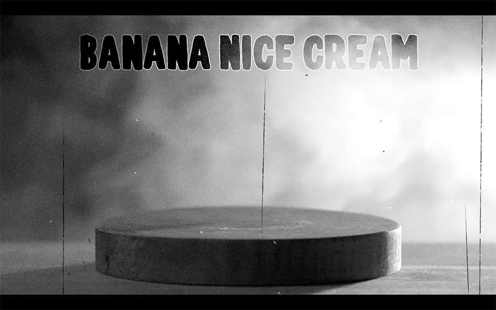 How To Make: Banana Nice Cream display image