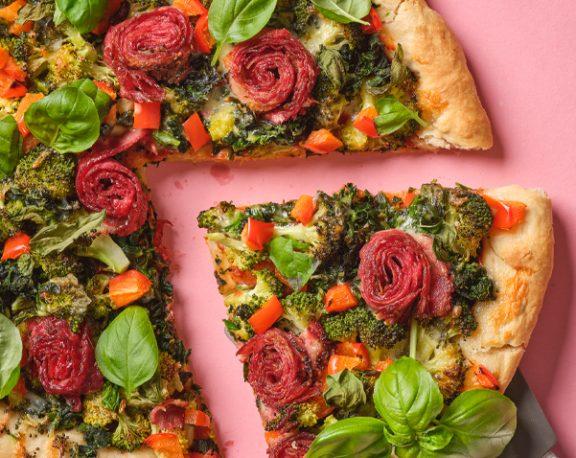 Smoked Meat Bannock Pizza display image